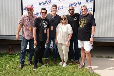 Ribfest 2017 - Naperville, Illinois - Meet & Greet - Better Than Ezra