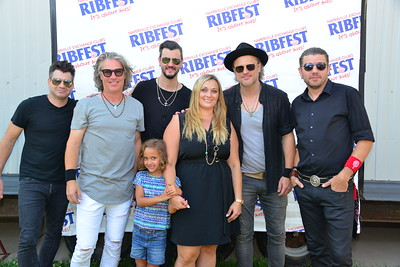 Ribfest 2017 - Naperville, Illinois - Meet and Greet - Collective Soul
