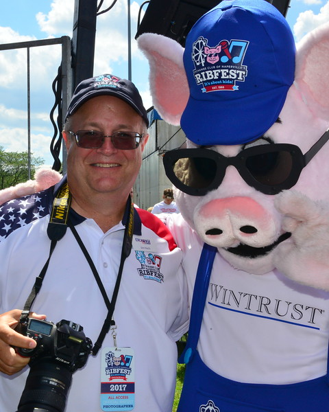 Ribfest 2017 - Naperville, Illinois - Lead Event Photograher and Exchange Club Member - Jim Hoch - jehoch1@aol.com