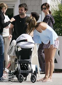 EXCLUSIVE: Alessandra Ambrosio Gets A Kiss From Jamie Mazur On Santa Monica Boardwalk, LA