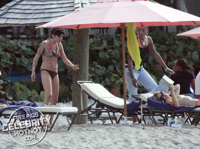 EXCLUSIVE: Amy Winehouse Hits The Beach With Josh Bowman in St Lucia, Caribbean