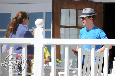 EXCLUSIVE: Benedict Cumberbatch and Colin Firth Are Beach Buddies! LA