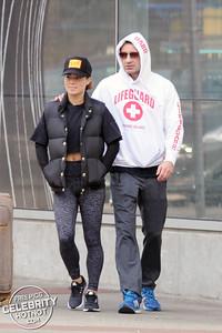 EXC: David Duchovny With Girlfriend Monique Pendleberry