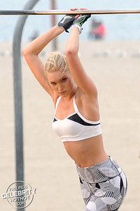 EXC: Elsa Hosk Poses For Victoria Secret's VSX Sports Wear Shoot