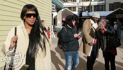 EXC: Idris Elba + Sabrina Dhowre Together In Park City, Utah
