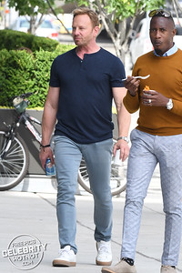 Jason Priestley and Ian Ziering Film New BH90210 And Show Off New Throwback Merch!