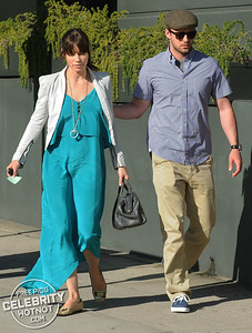 EXCLUSIVE: Jessica Biel Shows Off Engagement Ring With Justin Timberlake in LA