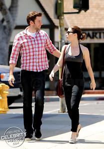 EXCLUSIVE: John Krasinski Wraps Arm Round Wife Emily Blunt In LA