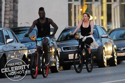 EXC: Linda Kozlowski On Bike Ride With Boyfriend in LA