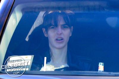 EXC: Lindsay Lohan Takes Sister, Ali Lohan, To McDonalds Drive-Thru, LA