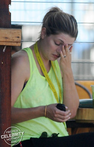 EXCLUSIVE: A Make-Up Free Mischa Barton Takes Her Cute Dog, Ziggy, For A Morning Walk, LA
