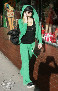 EXC: Santa Baby! Paris Hilton Goes Trashy For Christmas, Los Angeles