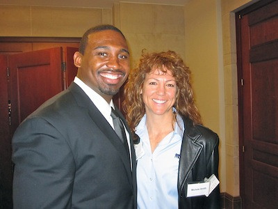 Jammie Kirlew and Michele at SGMA Event on Capital Hill, Washington DC