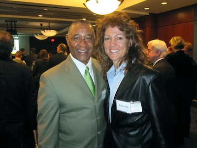 Ozzie Smith and Michele at SGMA Event on Capital Hill, Washington DC