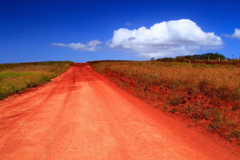 Near Maunaloa Town, Molokai