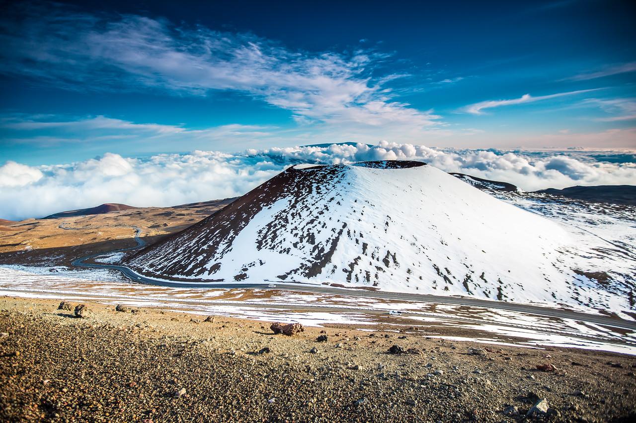 Mauna Kea snow job