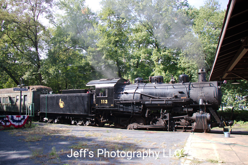 Central Railroad of New Jersey 0-6-0 No. 113