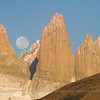 The Paine towers, Torres del Paine National Park, Chile