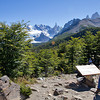 Hike towards Laguna Torre, Los Glaciares National Park, Santa Cruz, Argentina