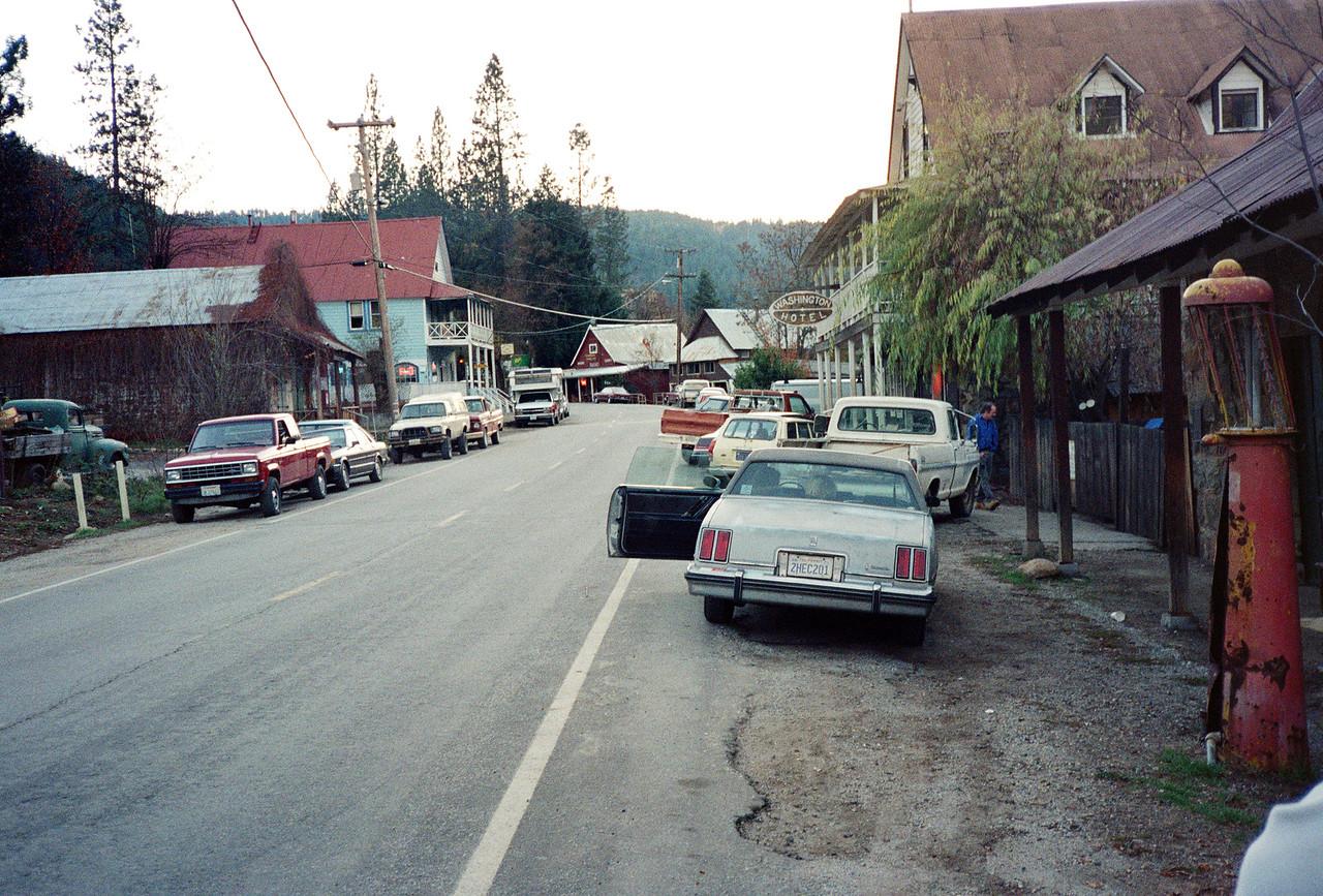 Visiting Washington, CA with Dan O'Neill, 1990 - 3 of 4