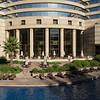 Grand Hyatt Hotel - too cold to be swimming.