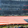 """""""Salute to Service"""" before the Eagles-Falcons game at the Linc"""