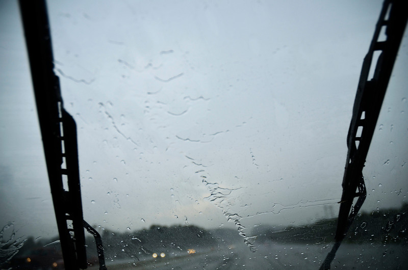 Storm on I-70, West Virginia (8/27)