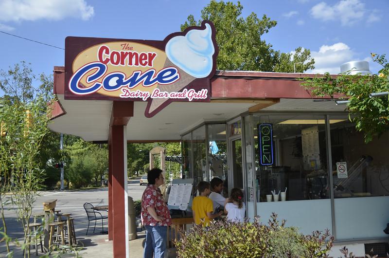 The kids invade The Corner Cone (8/28)