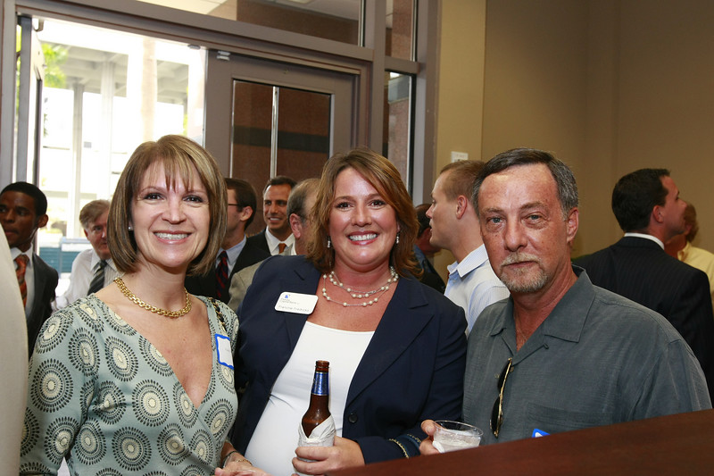 Francine Fredricks is flanked by Ft Lauderdale clients Marta and Don Wallace