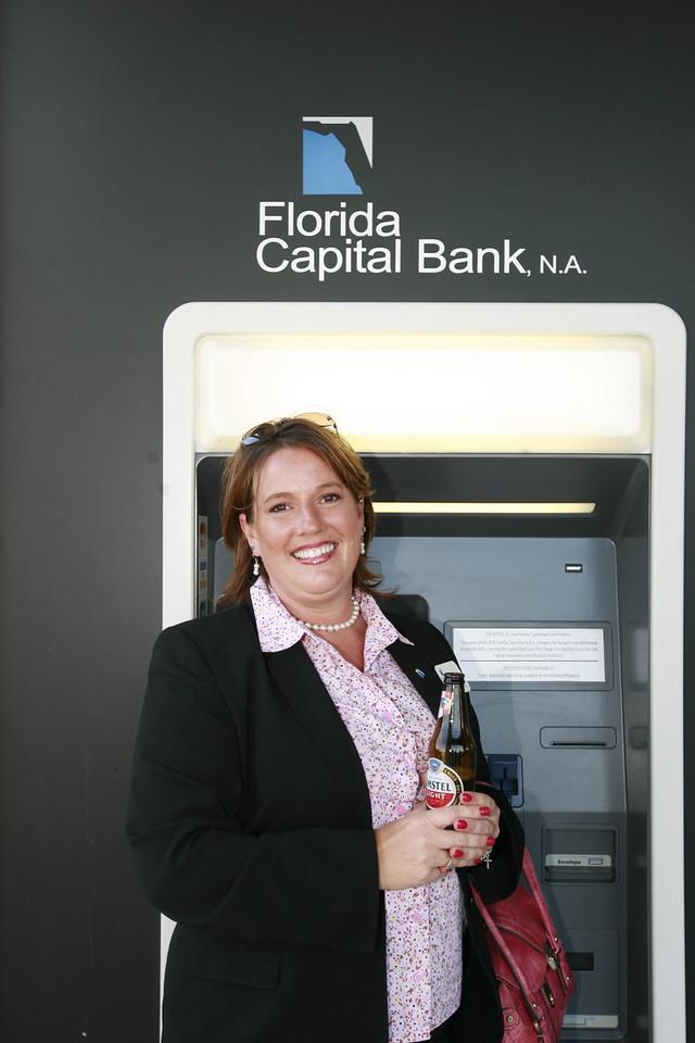Francine Fredricks from the Boca office smiles for JimWilson's camera