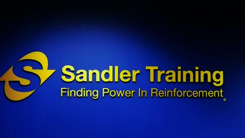 Sandler Training Programs. <br /> Professional Advantage program<br /> Management Solutions Program<br /> Sandler President's Club