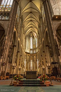 Center of Cologne Cathedral