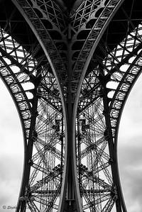 Eiffel Tower Ironwork