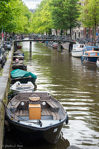 Peaceful Amsterdam Canal
