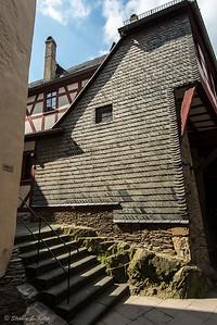 Changing Elevations at Marksburg Castle