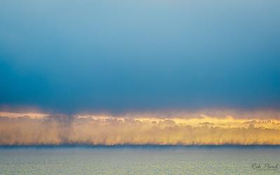 Morning mist on the Hudson