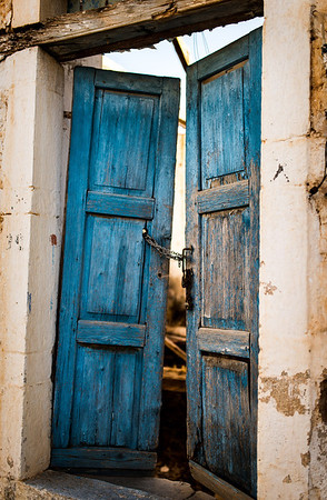 Doors - Galaxidi, Greece