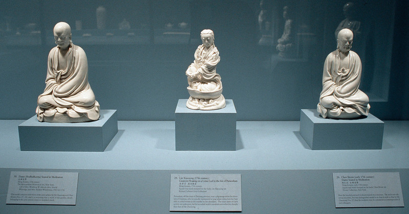 Blanc de Chine: Divine Images in Porcelain; China Institute