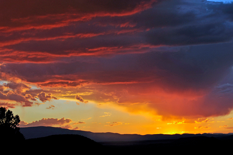 Carol Maxfield Sky Shots Fire After the Storm