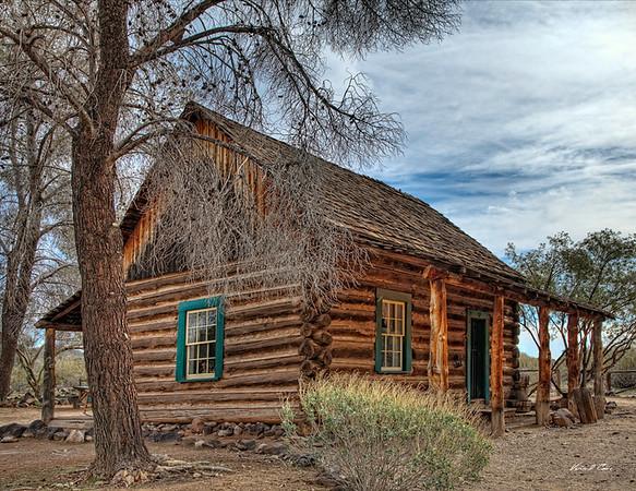 Don Cone Settler's Cabin