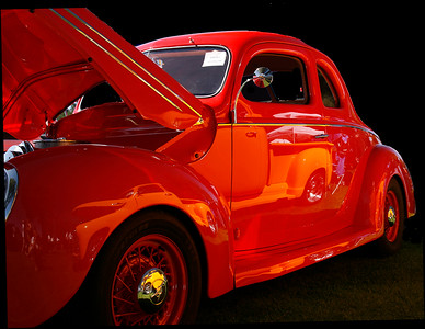 Claire Keyworth Little Red Coupe