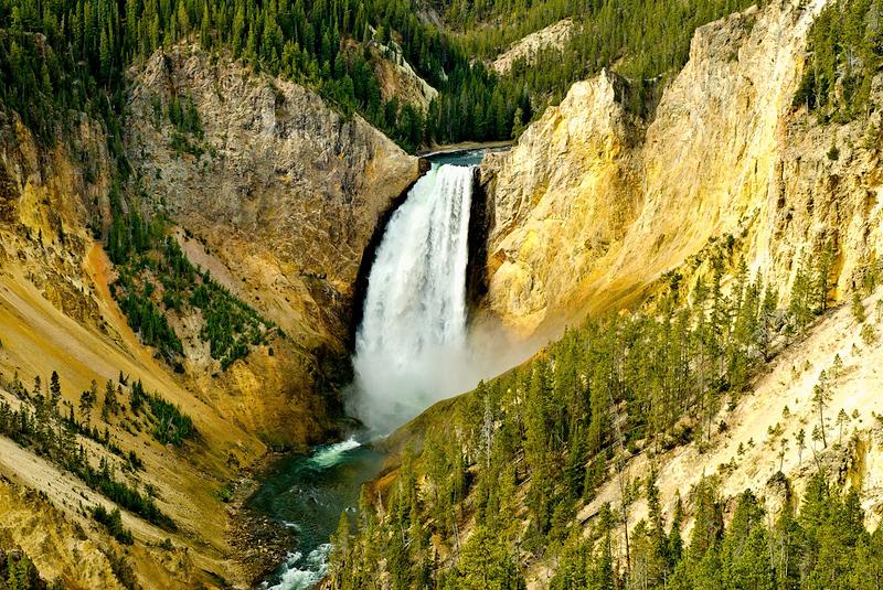 Don Disbrow - Yellowstone Falls