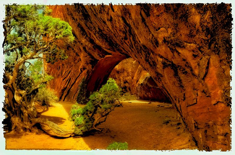 Carol Budrow - Navajo Arch