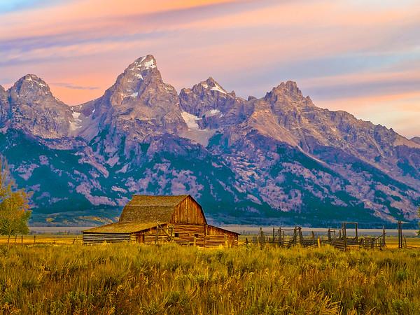 Don Disbrow - Sunrise, Grand Teton's
