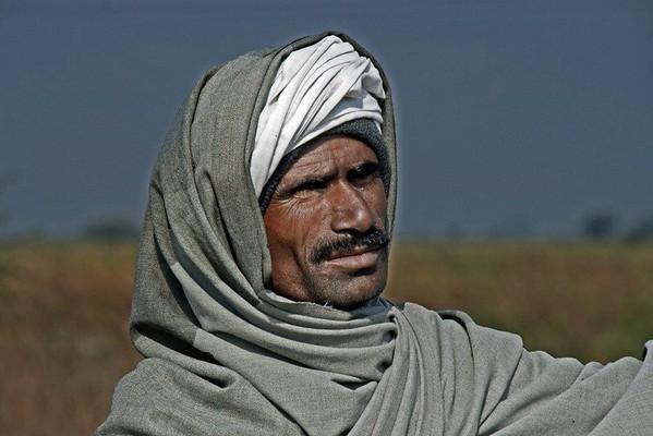 Claire Keyworth - Indian Man portrait