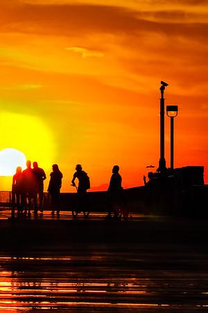 Barra - Sunset at Tempe Town Lake
