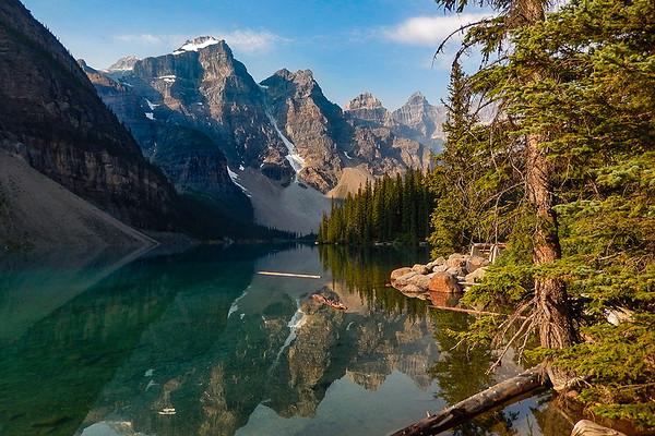 B Downing - Moraine Lake, Alberta