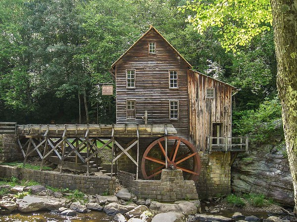 B Oakeson - Glade Creek Grist Mill, WV