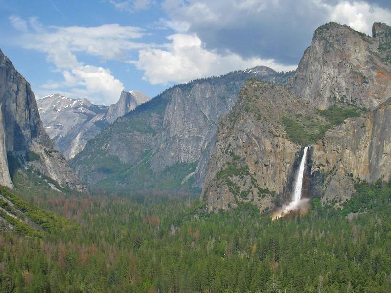 Barbara Oakeson - Tunnel View of Yosemite