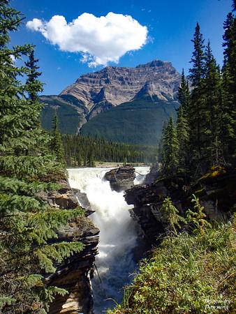 B Downing_Athabasca Falls Jasper AB